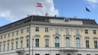 Avusturya'da İsrail bayrakları devlet binalarından kaldırıldı