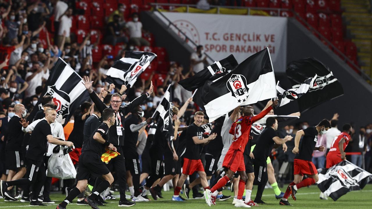Türkiye Kupası da Beşiktaş'ın