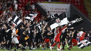 Beşiktaş Türkiye Kupası'nı 10. kez kazandı