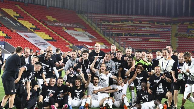 Beşiktaş, şampiyonluk kupasına yarın kavuşacak