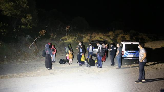 Muğlada 10 düzensiz göçmen yakalandı
