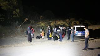 Muğla'da 10 düzensiz göçmen yakalandı