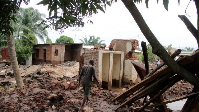 Burundi sular altında: 5 bin kişi yerinden oldu