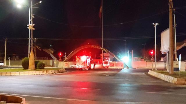 Diyarbakırda askeri tesise saldırı teşebbüsü