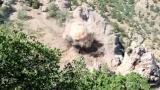 7 teröristin etkisiz hale getirildiği operasyondan görüntüler