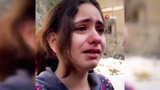 Filistinli kızdan yürek burkan soru: Neden çocukları öldürüyorsunuz?