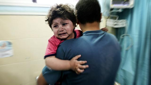 Gazzede 59 çocuk hayatını kaybetti