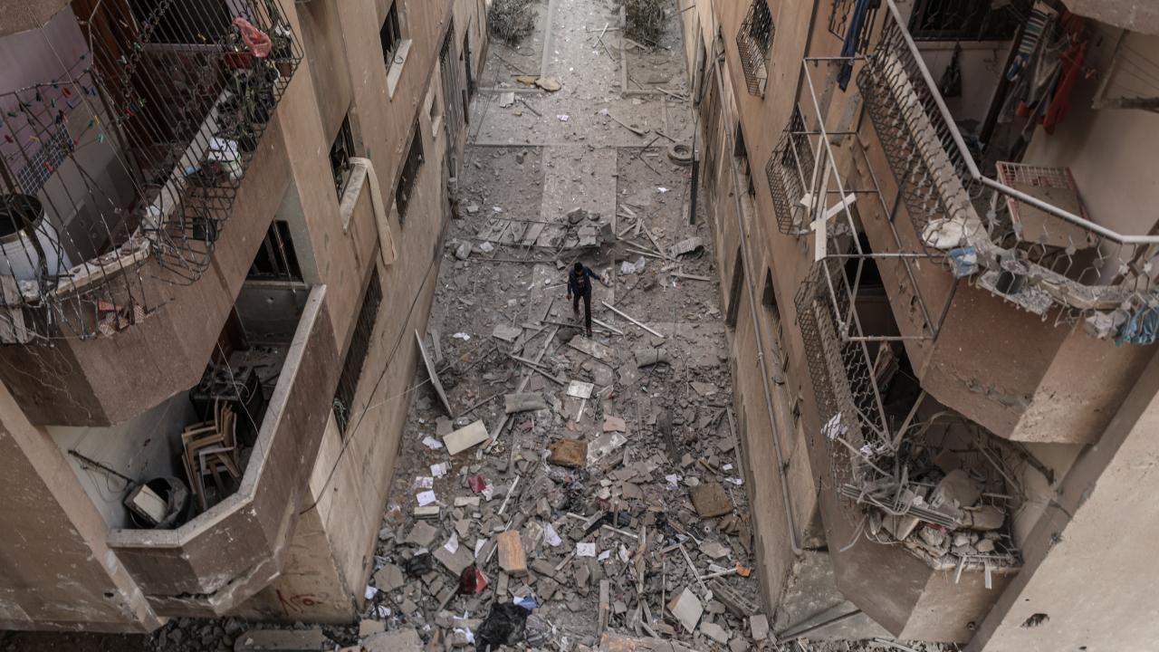 Gazze'de 217 Filistinli şehit oldu