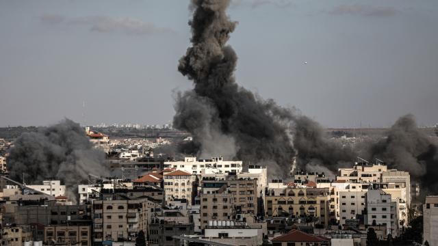 İsrailden Gazze Şeridi'ne saldırı