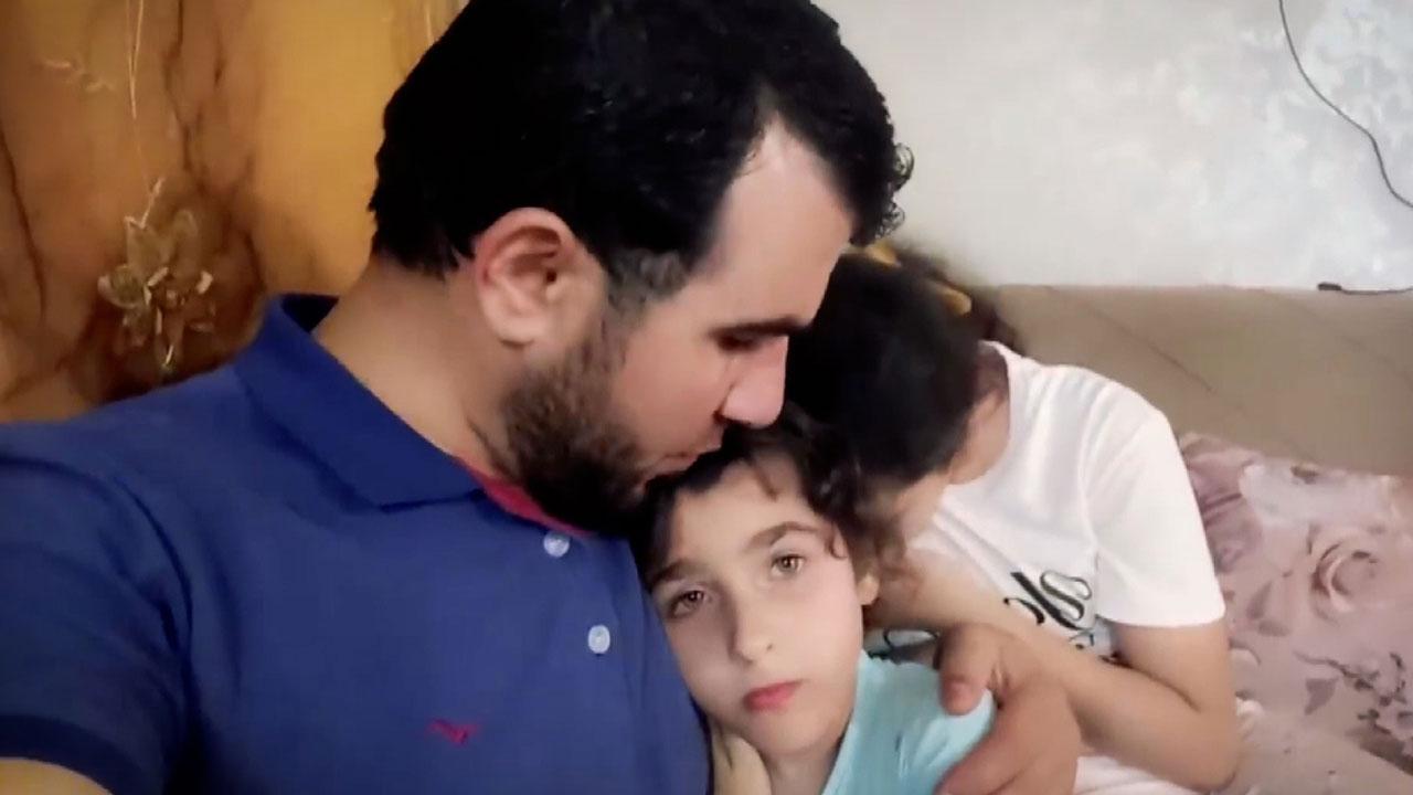 Filistinli kızların 'korkusuz' babası da şehit oldu