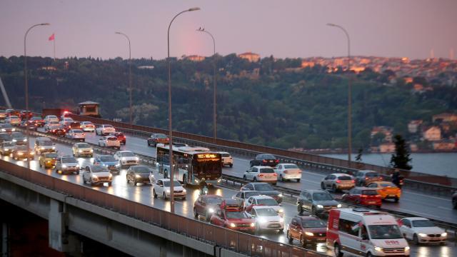İstanbulda Filistine destek konvoyu