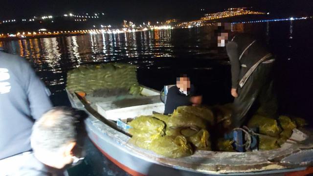 Kocaelide kaçak avlanan 150 çuval midye ele geçirildi
