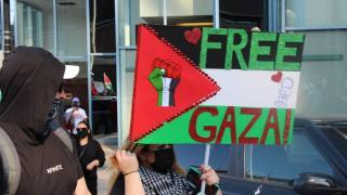 Kanada'da Filistin'e destek gösterisi