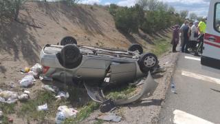 Kırıkkale'de trafik kazası: 1 yaralı
