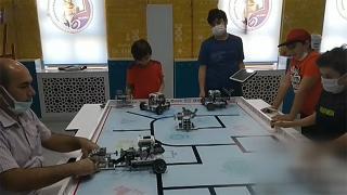 Dünya Eğitim Robotları Yarışması'nın şampiyonu Türkiye'den