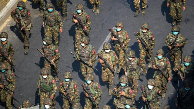 Myanmarda darbe karşıtı silahlı grup: 30 ordu mensubunu öldürdük