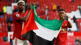 Pogba ve Diallo'dan Filistin'e destek