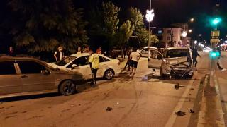 Sakarya'da zincirleme kaza: 5 yaralı