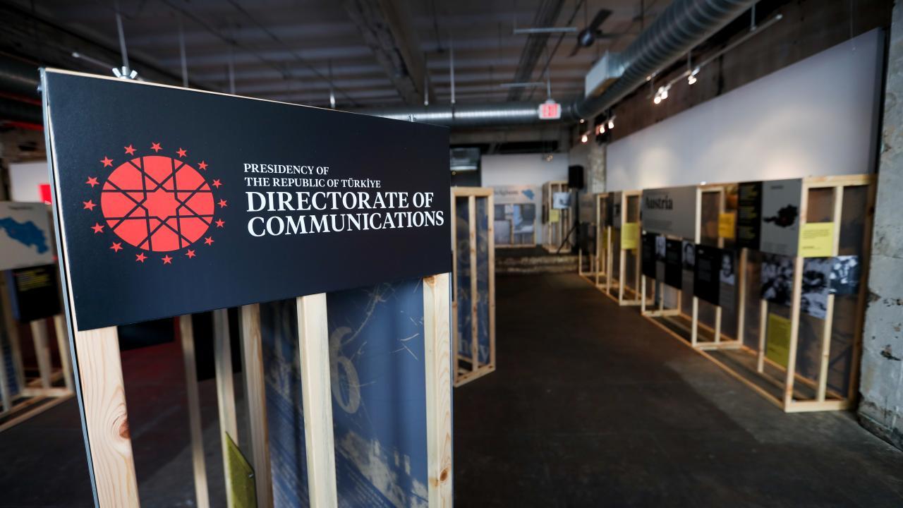 Şehit Diplomatlar Sergisi Washington'da açıldı