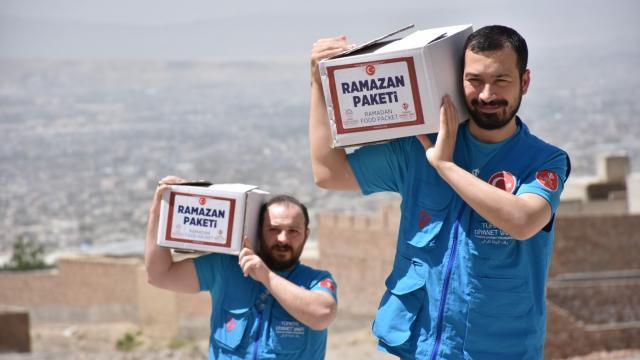 Türkiye Diyanet Vakfı ramazanda 1,9 milyon kişiye 78,3 milyon lira tutarında yardım ulaştırdı