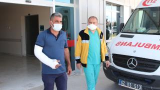 Filyasyon ekibi şoförüne saldıran koronavirüs hastası tutuklandı