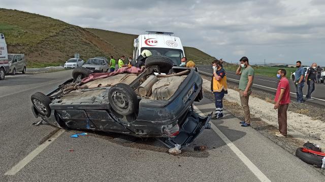 Yozgatta trafik kazası: 1 ölü, 3 yaralı