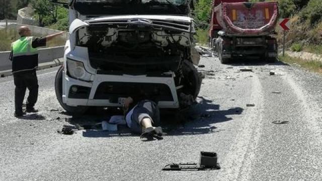Muğlada trafik kazası: 2 yaralı