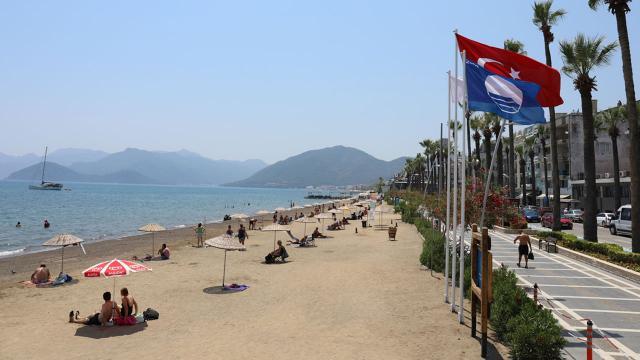 Marmariste mavi bayraklı plaj sayısı 24 oldu