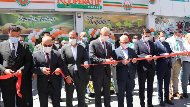 Tarım Kredi Kooperatif Marketin 275inci şubesi Niğdede açıldı