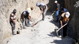Kuşadası'nda 2 bin yıllık antik su kanalı keşfedildi