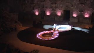 Aspendos Antik Kenti'nde 'Bizim Yunus' sahnelendi