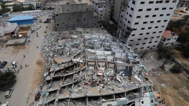 Gazzede yeniden imar temmuz ayında başlayacak