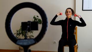 Düzenli egzersiz COVID'ten korunmaya yardımcı oluyor