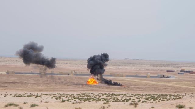Suudi Arabistan ve ABDnin ortak hava tatbikatı Çöl Serabı 3 sona erdi
