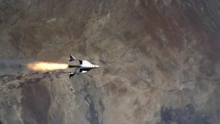 Uzay turizmi şirketi Virgin Galactic yeni uçuş testini tamamladı