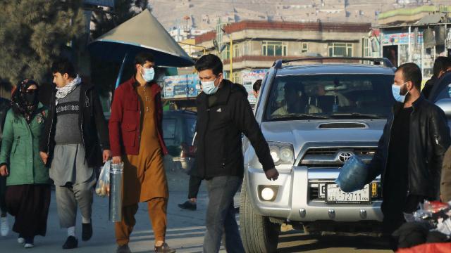 Afganistanda COVID-19un hızı arttı