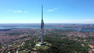 Bayramda Çamlıca Kulesi'ni 30 bin kişi ziyaret etti