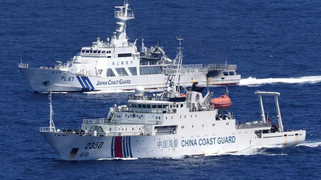"""Japonya-Çin arasında """"gemi"""" gerginliği"""