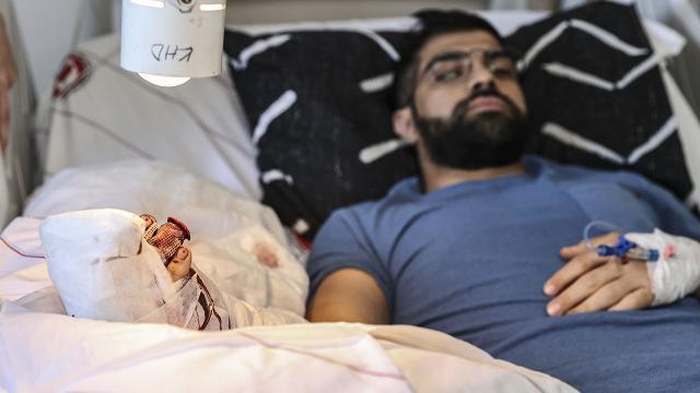 Ankarada doktoru bıçakla yaralayan şüpheli tutuklandı