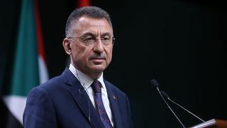 Cumhurbaşkanı Yardımcısı Oktay'dan Van'a geçmiş olsun mesajı