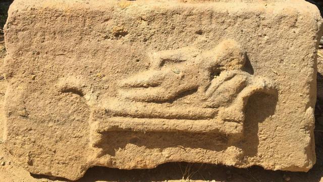Kırıkkalede lahit mezar ele geçirildi