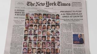 New York Times Gazzeli çocukların fotoğraf ve hikayelerini paylaştı