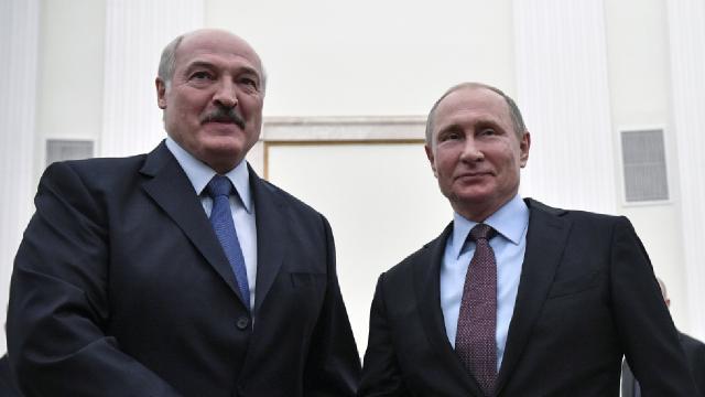 Putinden ABye karşı Belarusa destek açıklaması