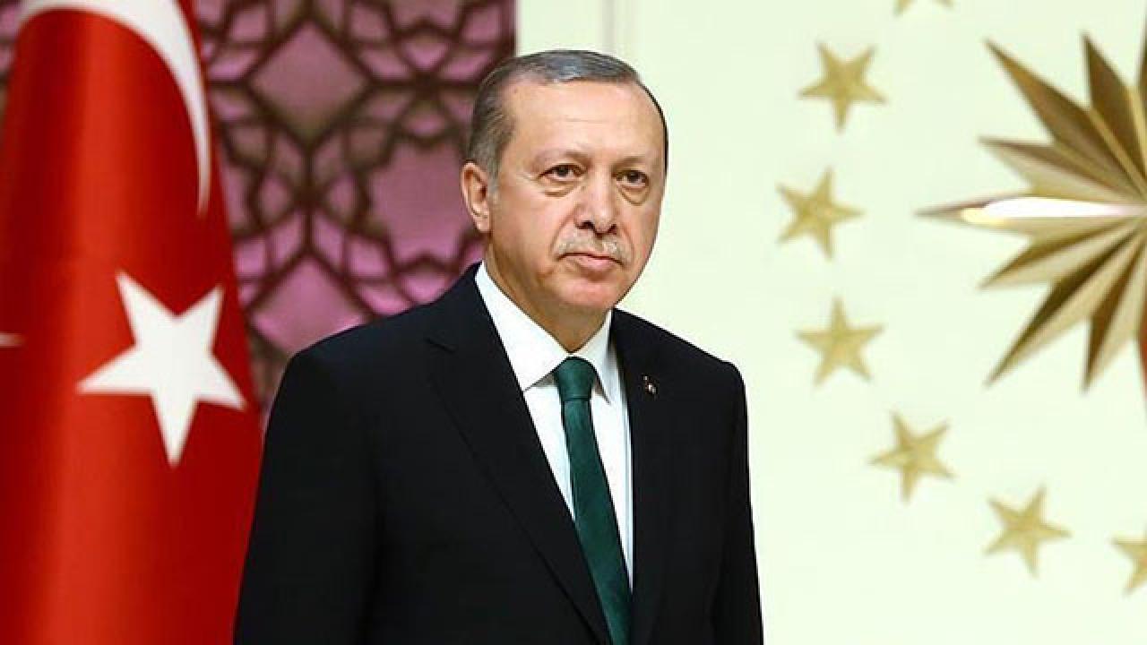 Cumhurbaşkanı Erdoğan'dan şehit güvenlik korucusunun ailesine başsağlığı