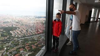 Çamlıca Kulesi ziyarete açıldı
