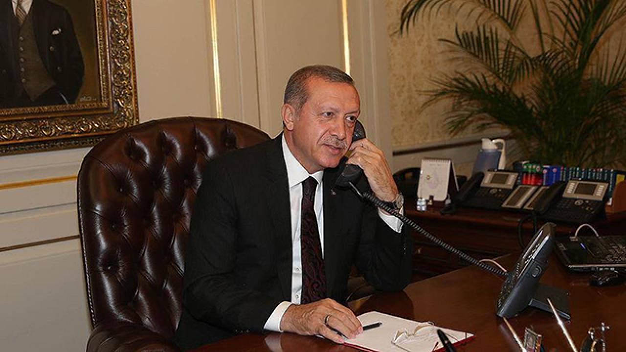 Erdoğan'dan Ayşegül Biçer'e tebrik telefonu