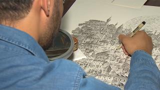 İstanbul'un tarihi dokusu minyatür ve gravürle yeniden hayat buluyor