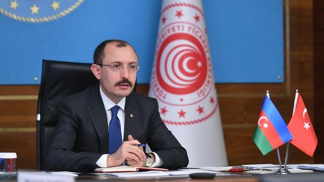 Bakan Muş: Azerbaycan ile ticaret hedefimiz 15 milyar dolara ulaşmak