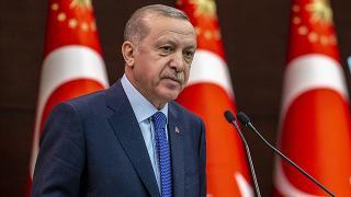 Erdoğan'dan şehit uzman çavuşun ailesine başsağlığı mesajı