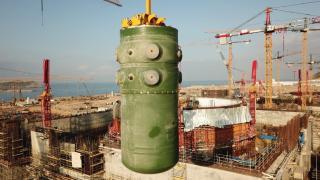Akkuyu'da reaktör kabının montajı tamamlandı